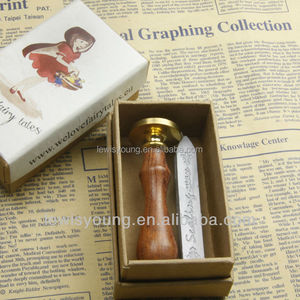 The best gift for you, lovely gift items, sealing wax and stamp in gift box
