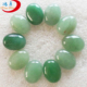 Wholesale natural loose gemstone green aventurine pear cabochon