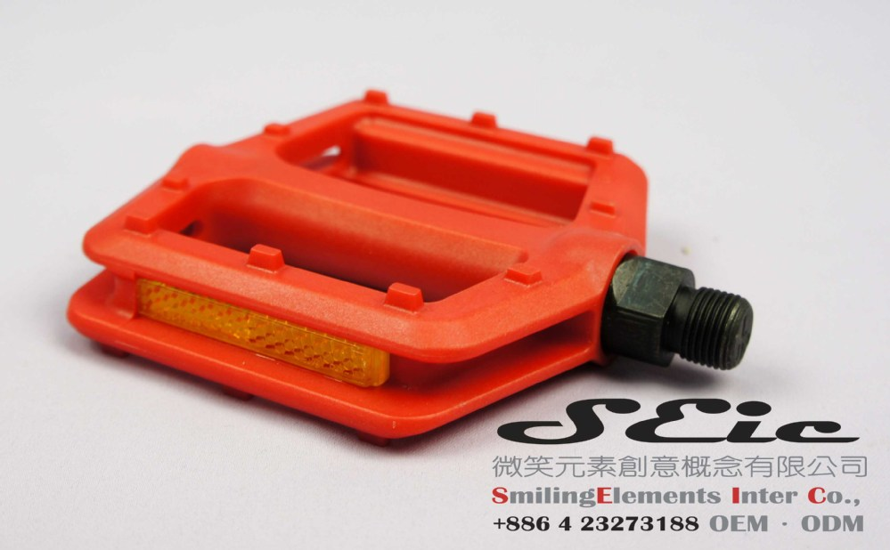 Bike nylon pedal for bicycle parts