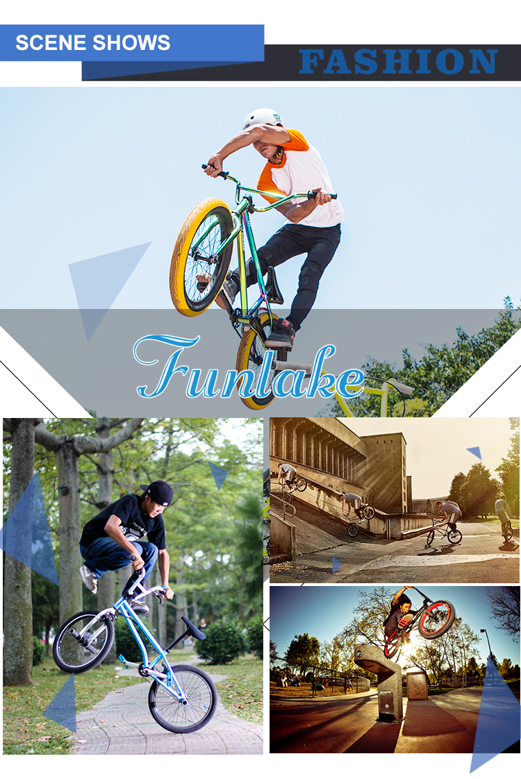 Funlake cheapest wholesale custom steel frame all kinds of price 20'' mini stunt freestyle bmx cycle flatland bmx bikes for sale