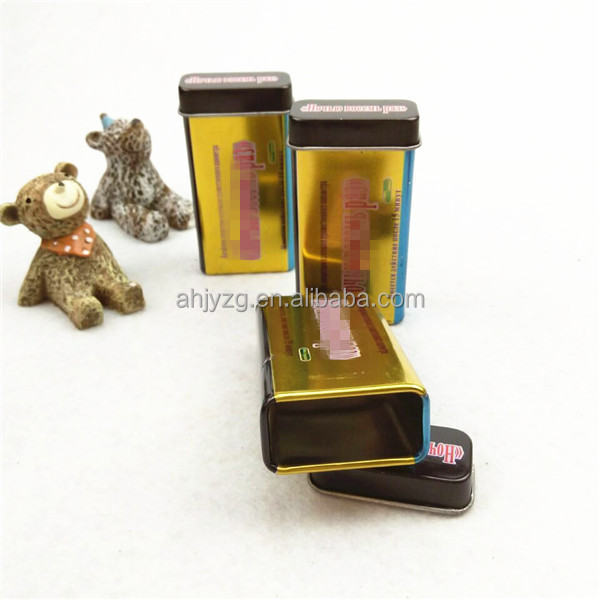 Custom brand tin cans small cigarette packaging