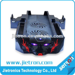 2013 new design For 5 in 1 XBOX ONE dual cool console stand