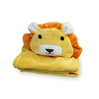 Premium Quality Animal Designs Baby Kids Hooded Towels