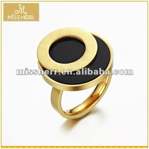 Wholesale fashion gold ring designs for men