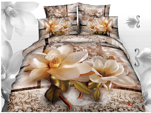 3D High Quality 100% cotton bed sheet,cotton bed sheets,bed sheets 3d