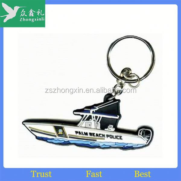 2015 Bestseller custom rubber keyring for promotional souvenir gifts