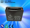 Best price and Long service life VRLA 12V 20Ah 20hr sealed lead acid battery for ups backup