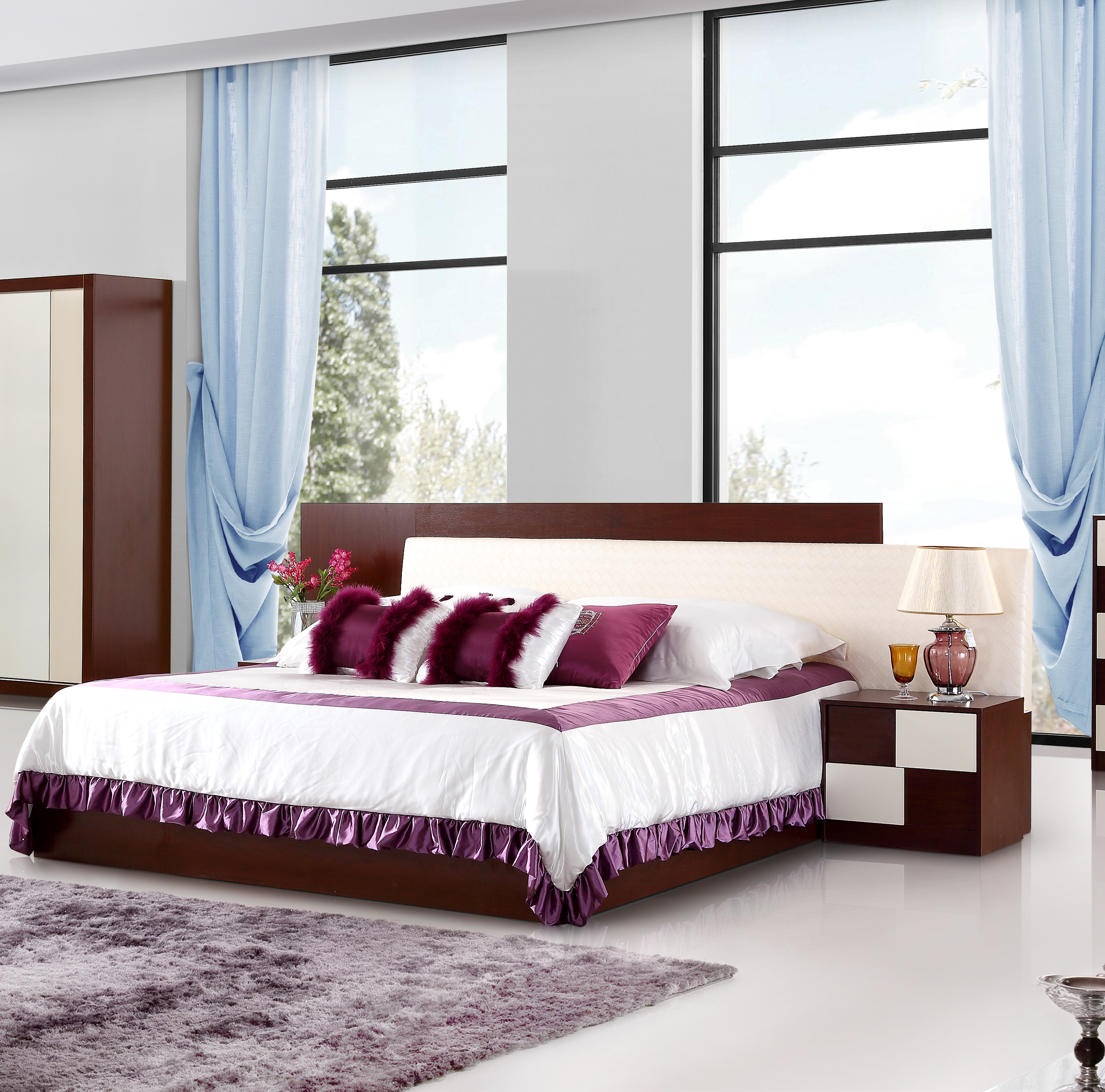 Modern Bed Room Furniture Bedroom Set/king Size China Bedroom Furniture  /modern New Model Wooden Bedroom Furniture Made In China - Buy Bed Room ...