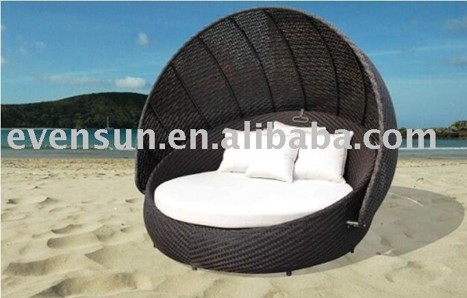 round beddaybedoutdoor furniture buy rattan furniturecane furnitureday bed product on alibabacom