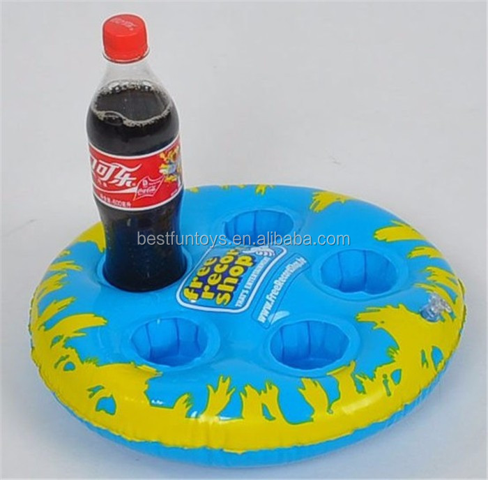 Promotional Custom Inflatable 4 Pack Beer Bottle Drink Tray ...