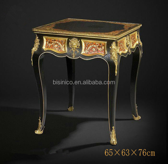 royal style living room furniture with gold painted