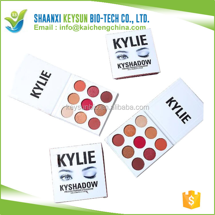 Ava Recommend 9 new colors bright assorted color baked eye shadow/ kylie xoxo eye makeup