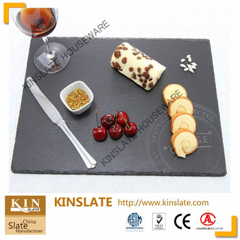 Black Chopping Edge Slate Dinner Plates With Laser Engraving Logo  sc 1 st  Wholesale Alibaba & Black Chopping Edge Slate Dinner Plates With Laser Engraving Logo ...