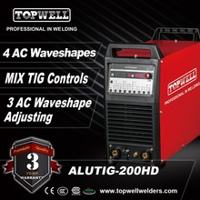 heavy duty ac/dc pulse aluminum tig welding machine ALUTIG-200HD