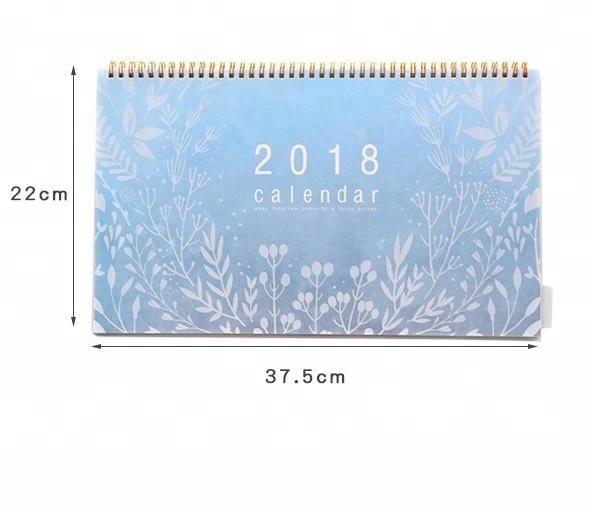 2019 New Year Calendar 2019 Fashion Simple Lovely Mini Table Calendars Vintage Kraft Paper Desk Calendar Office School Supply Skillful Manufacture Calendar