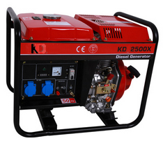Good Price Electric Generator 5kw Air Cooled Small Silent Diesel ...