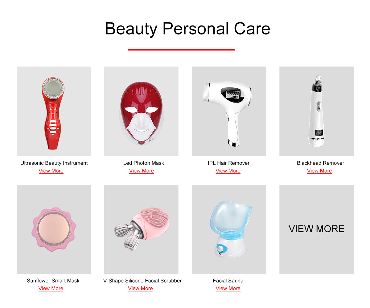 other home face skin beauty personal care portable microcurrent photon ultrasonic facial salon multi-functional beauty equipment