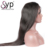 100% Natural Human Raw Straight Black Girl Double Drawn Hair Wig Extensions Vendors
