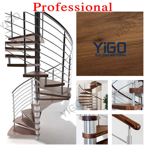 Indoor Spiral Stair Prices / Price Of Wood Stainless Steel Spiral Staircase