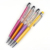 Stock On Sale Custom Mutil Color Crystal ball pen for wholesale