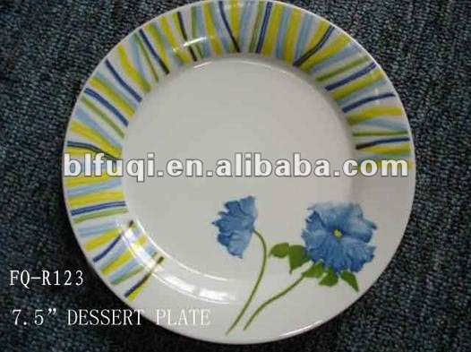 Ceramic plates & dishes porcelain items custom printed restaurant ceramic plates dishes