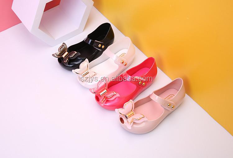 aec8031514a0 Fancy Butterfly Kids Jelly Shoes