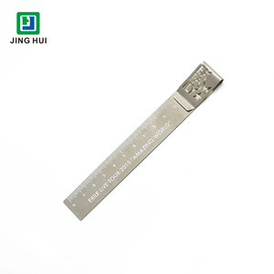 Custom metal ruler