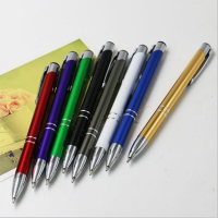 Factory direct sale cheap promotional metal ball pen for customize logo