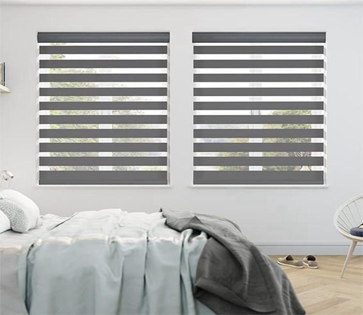 High Quality 2 Inch Vertical Blinds Dual Zebra Window