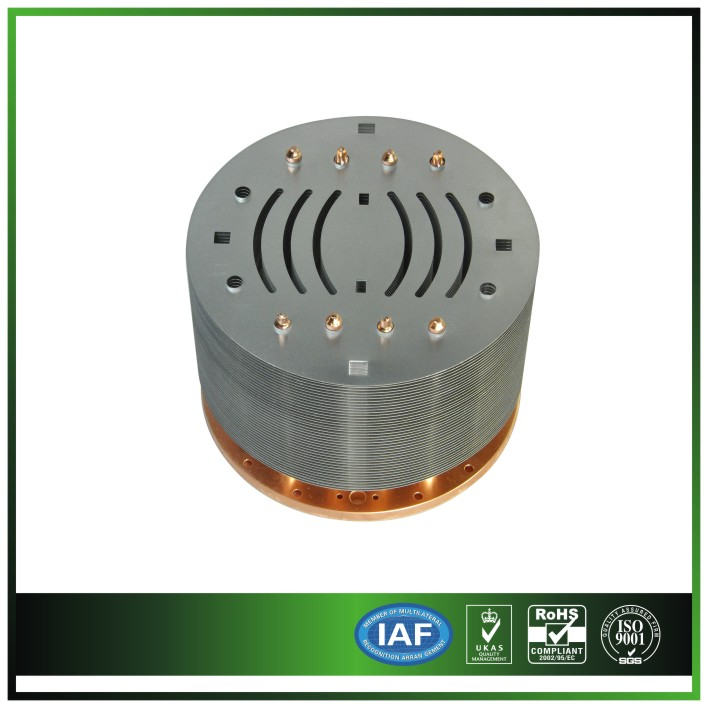 High Power 200w Round Heat Pipe Heat Sink Led Lighting Buying In ...