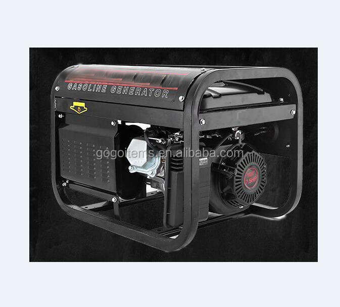 Top sale three phase 220v 380v 3.5kva 8500w portable 3/5/6/8Kw micro gasoline power generator 8500 2500 5.5hp for home use