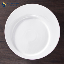 China Wholesale Ceramic 9 Inch Dinner Plate for Banquet