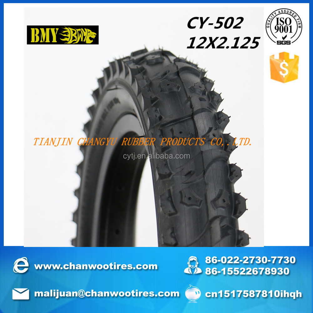 Bicycle color mountain bike tyres 12x2.125 from tianjin China