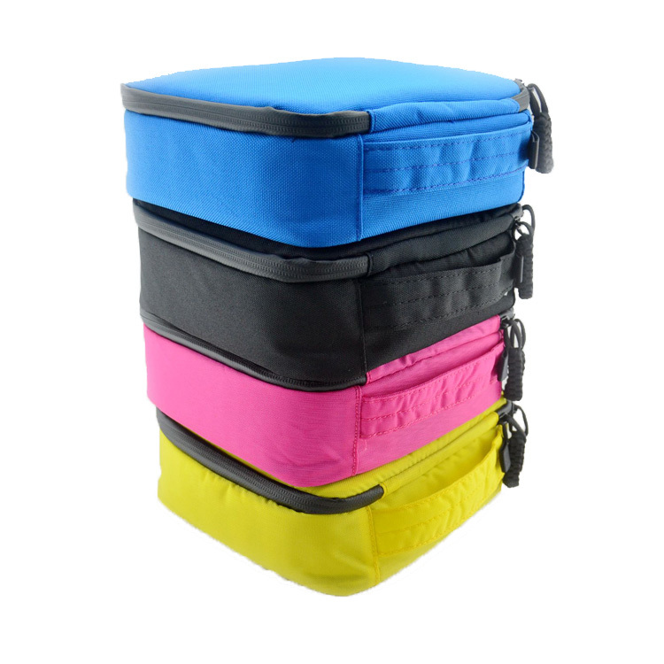 Go Pro Nylon Protective Waterproof Storage Camera Bag Box Correa Camara for GoPro Hero 4 3+ 3 2 sj4000 Accessories