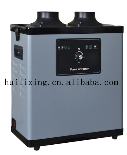 Voltage AC220V Kitchen Smoke Filter Smoke Absorber /Factory Sales Workshop Smoke  Extractor Filtering Efficiency Reached