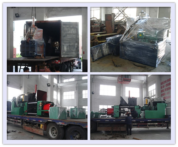 Wholesale automatic metal scraps mini briquette machine 70 mm press