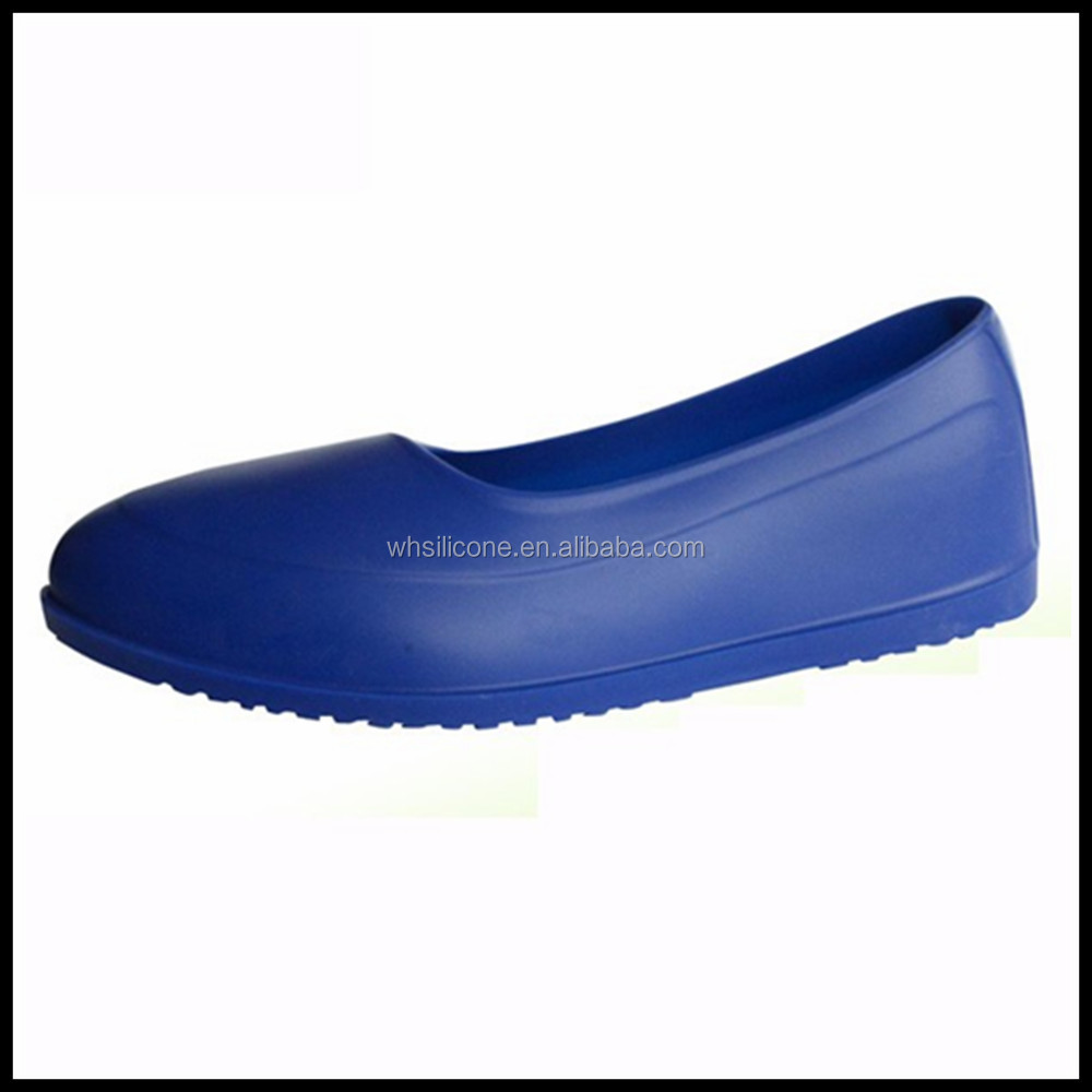 Eco-friendly reusable silicone safty shoes