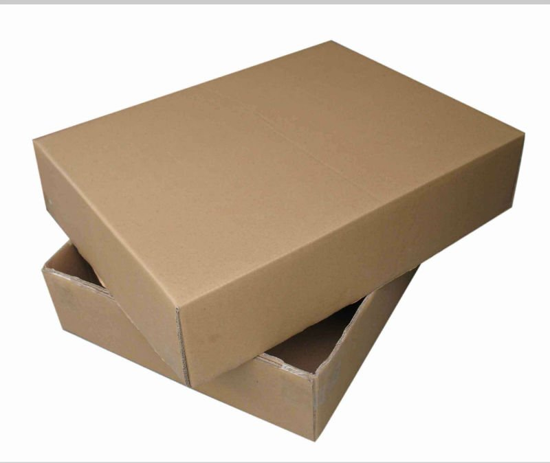 double wall corrugated paper box