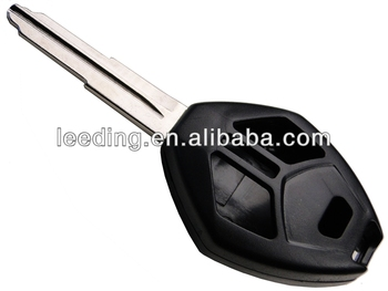 Mitsubishi car transponder key shell , Mitsubishi remote key case 4 button remote key shell(MI4002)