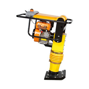 Professional vibrating/vertical rammer machine Earth compactor machine diesel power tamper rammer compactor durable