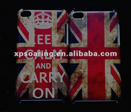 Old flag IMD case skin cover for ipod touch 4