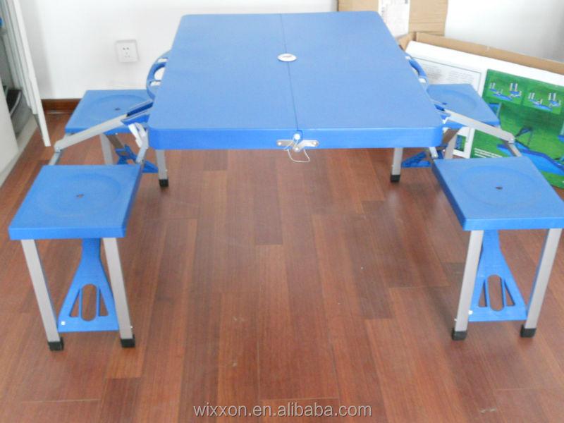 Plastic folding picnic table set plastic folding picnic - Set table plastique ...
