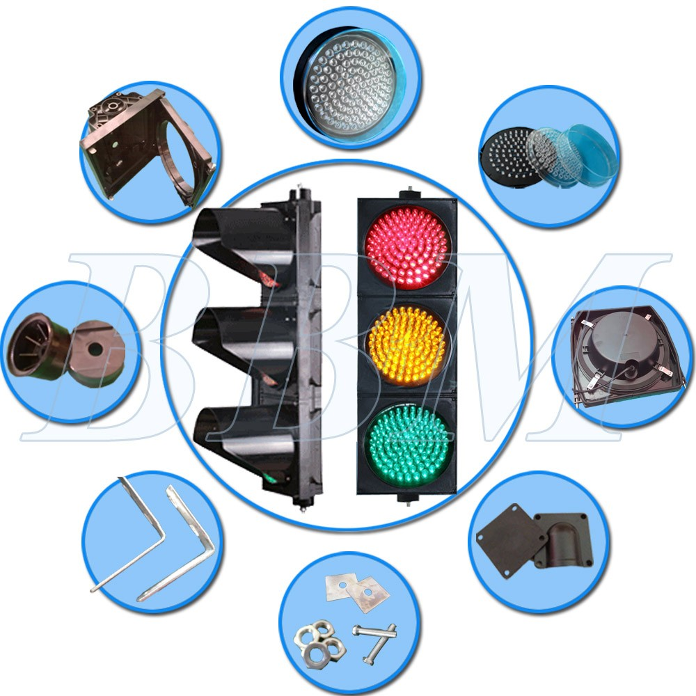 Uniform Optical Output Traffic Light Signals Parts Traffic Light ...