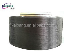 For 20D Dope Dyed Super Black DTY Nylon 6 POY Yarn