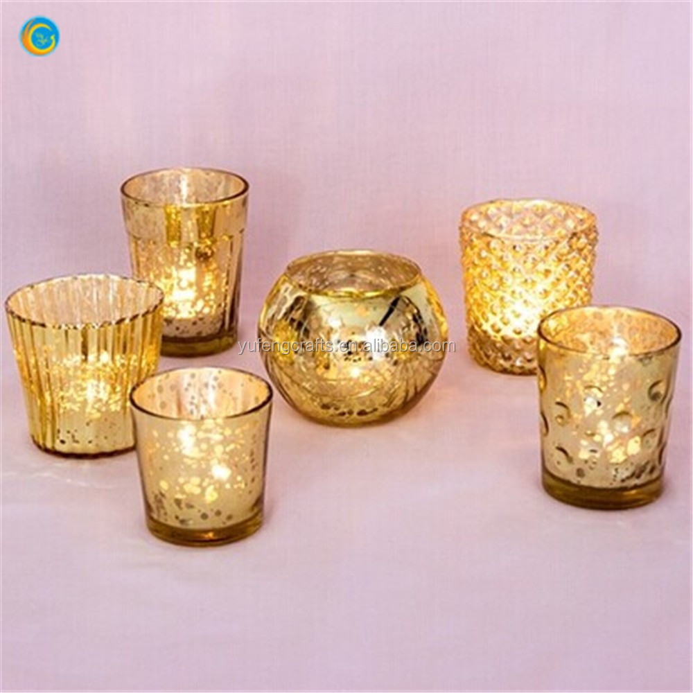 Best of Mercury Glass Candle Holders