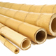 Natural Tonkin bamboo poles for sale