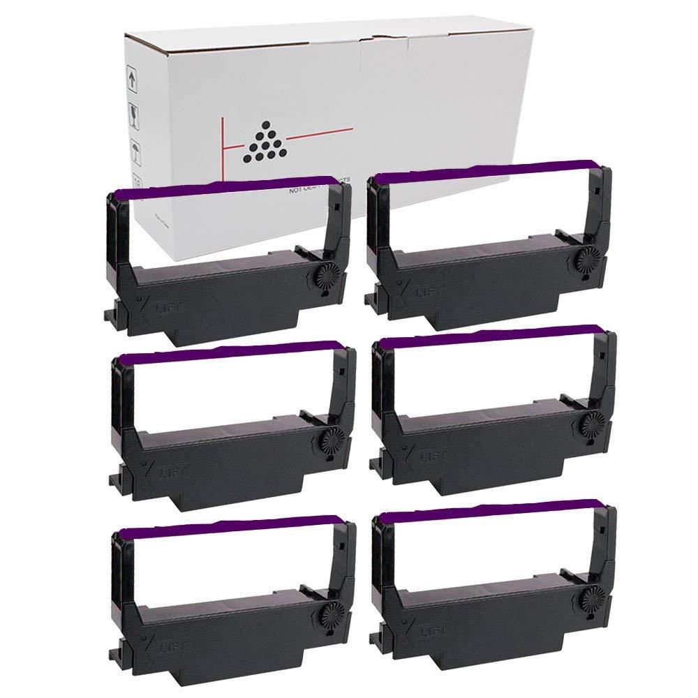 6PK Star Micronics SP200 Black//Red Printer Ribbons SP200 Free Shipping!