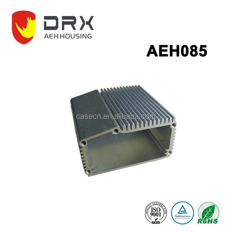 China Manufacturer Extruded Aluminum Amplifier Heat Sink