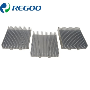 Aluminum heat sink 1 piece exchanger tube
