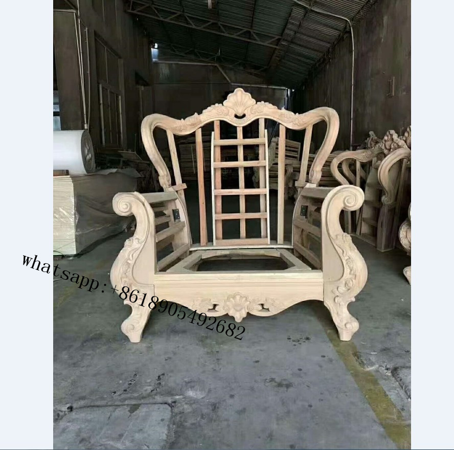 antique wooden sofa frame wholesale furniture frame carving wood Chair Frame